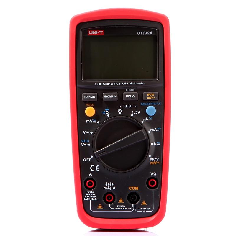 JD Коллекция дефолт UT139A uni uni t ut890c trms цифровой мультиметр с подсветкой