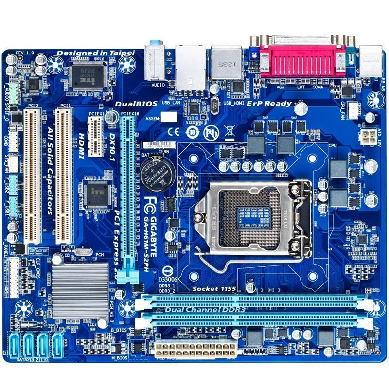 JD Коллекция H61M- значение S2PH тромбоцитов дефолт asrock h61m vs3 original used desktop motherboard h61 socket lga 1155 i3 i5 i7 ddr3 16g usb2 0 micro atx
