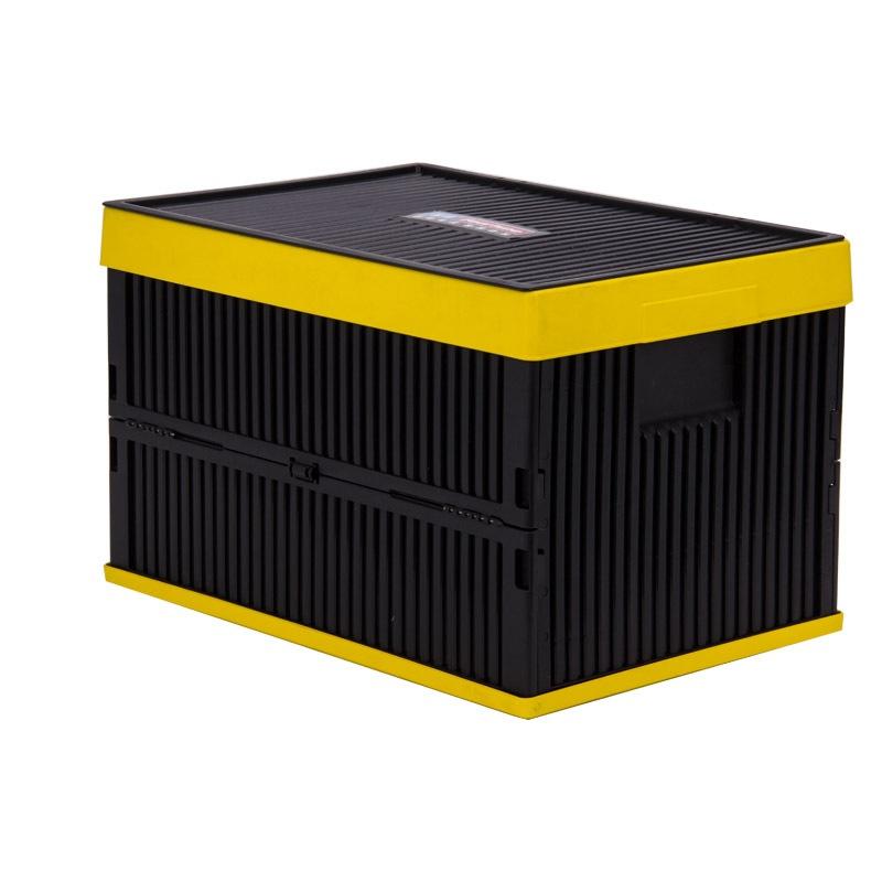 JD Коллекция Черная складная секция 52L дефолт fucheng автомобильный склад для хранения ящик для автосекунтов ящик для мусора ящик для мусора ведро fc 1