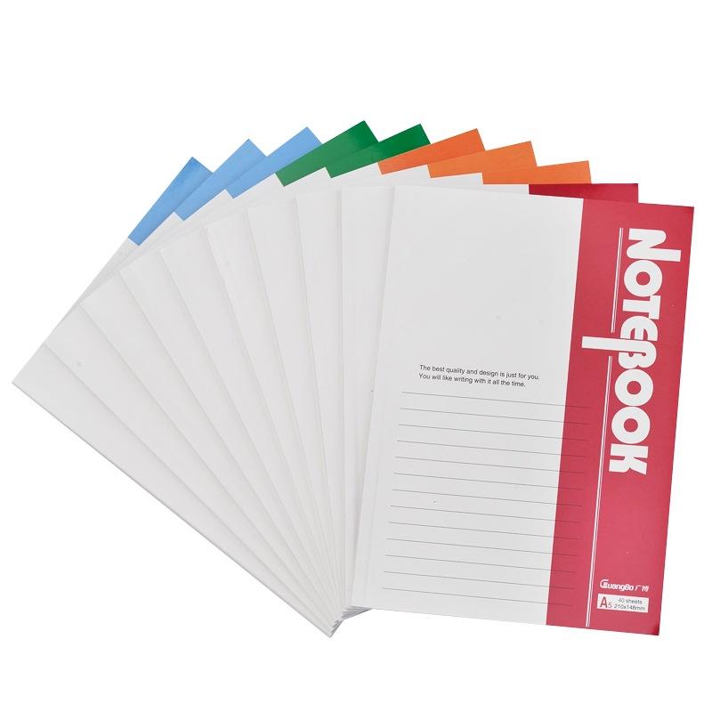 JD Коллекция дефолт 10 40 A5 мягкие рукописи широкий guangbo 5 настоящего устройство 60 a4 памятки книги дневник мягкие рукописи случайного цвета gbr0797