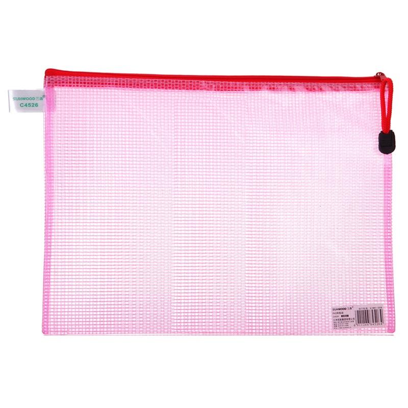 JD Коллекция прибыль kinary fb8034 3 а5 сетки молнию мешок бумажный мешок комплект цвет случайный 3 установлен