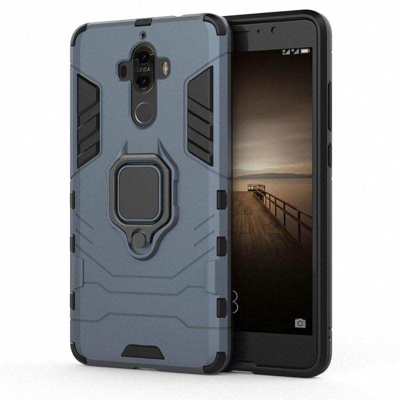 Для телефона Huawei Mate 9 Mate9 с футляром для мобильного телефона с футляром для мобильного телефона с чехлом для мобильного телефона Case для мобильного телефона Huawei Mate 9 Mate9 MHA-L09 MHA-L29 WIERSS Темно-синий Для Huawei Mate 9 фото