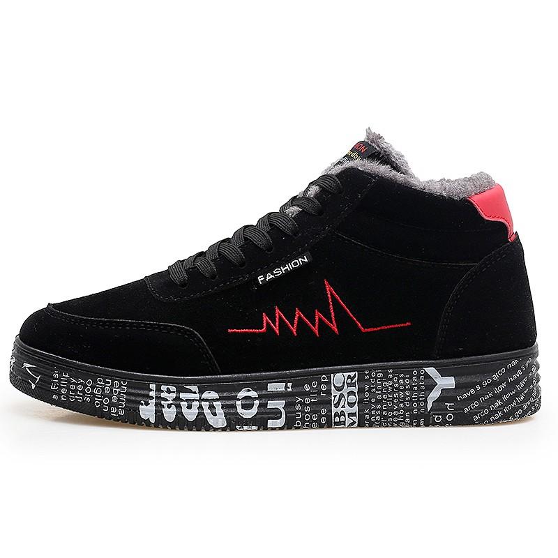 Мужская обувь Dayocra Черный Красный 8,5 фото