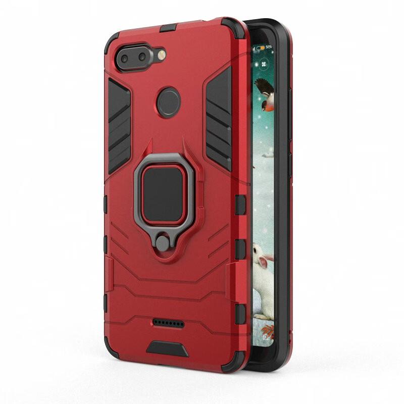 Для Xiaomi Redmi 6 Корпус для мобильного телефона с футляром для мобильного телефона с футляром для мобильного телефона с чехлом для телефона Xiaomi Mi A1 Mi 5X Mi5X WIERSS красный для Xiaomi Mi 5X фото