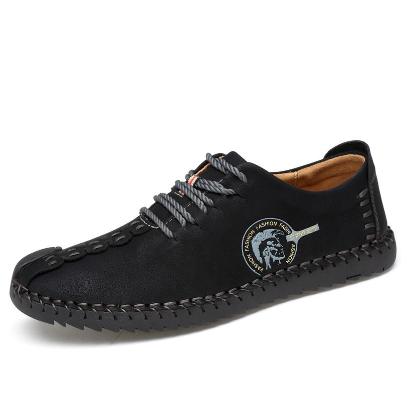 Обувь мужские кроссовки мужские повседневная обувь работа обувь обувь мужчины кроссовки luoweikedeng Black 42 фото