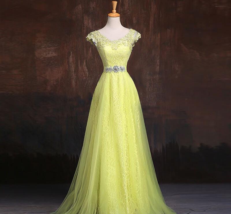Вечернее платье Xi Diao желтый США 6 Великобритания 10 ЕС 36 фото