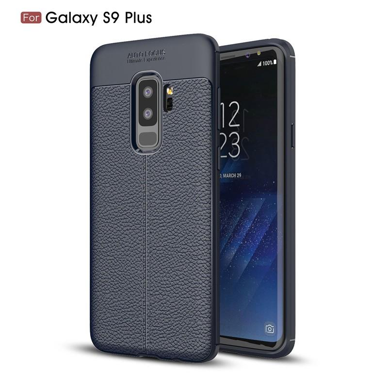 Fecoprior Темно-синий Задняя обложка для Samsung Galaxy S9 Plus Case S9Plus