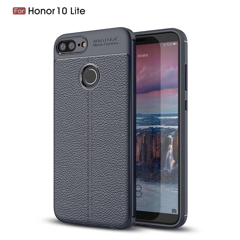Fecoprior Темно-синий Задняя обложка для Huawei Honor 10 Lite Case Honor10 Lite