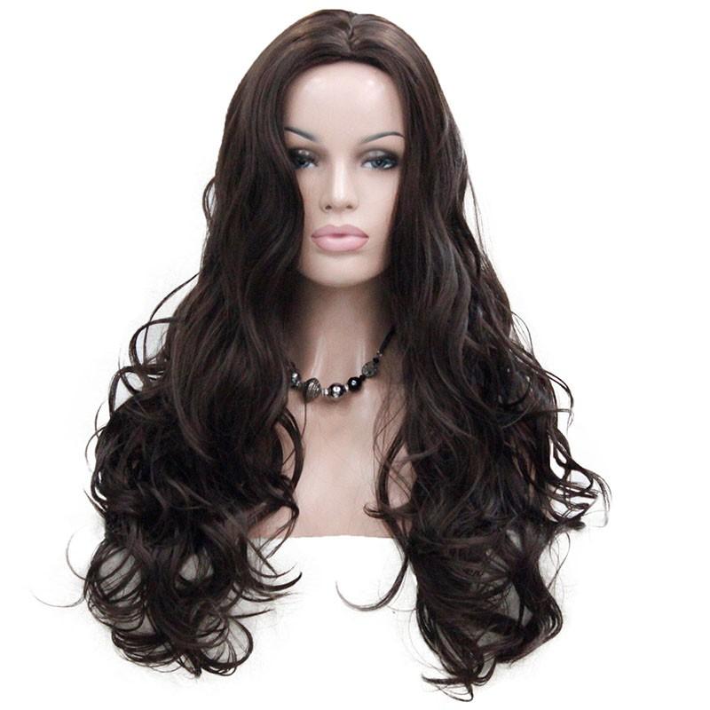 Длинные волнистые блондинки парики длинные волнистые коричневые парики длинные темно-красные парики StrongBeauty 6 Длинный фото