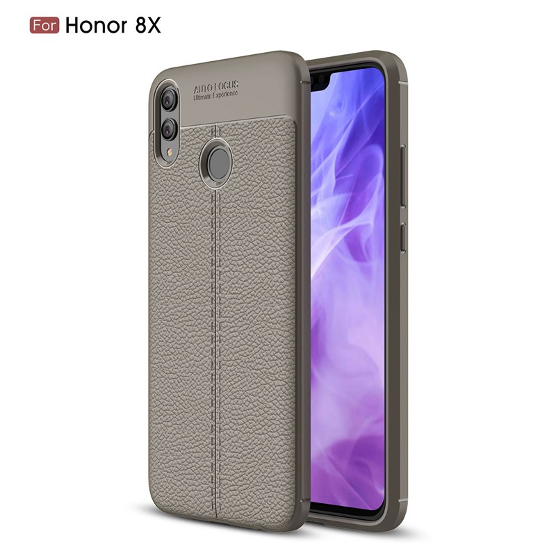 Fecoprior Серый Задняя обложка для Huawei Honor 8X Honor8X Case