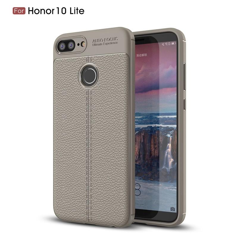 Fecoprior Серый Задняя обложка для Huawei Honor 10 Lite Case Honor10 Lite
