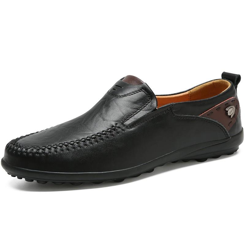 Мужская обувь мужская повседневная обувь мужская одежда обувь повседневная обувь мужчины luoweikedeng Black 40 фото