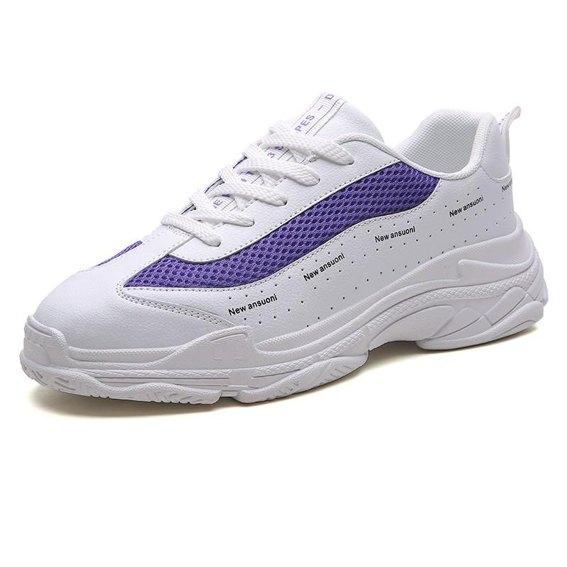 Обувь мужчины кроссовки мужчины повседневная обувь работа обувь обувь мужчины кроссовки luoweikedeng фиолетовый40 42 фото