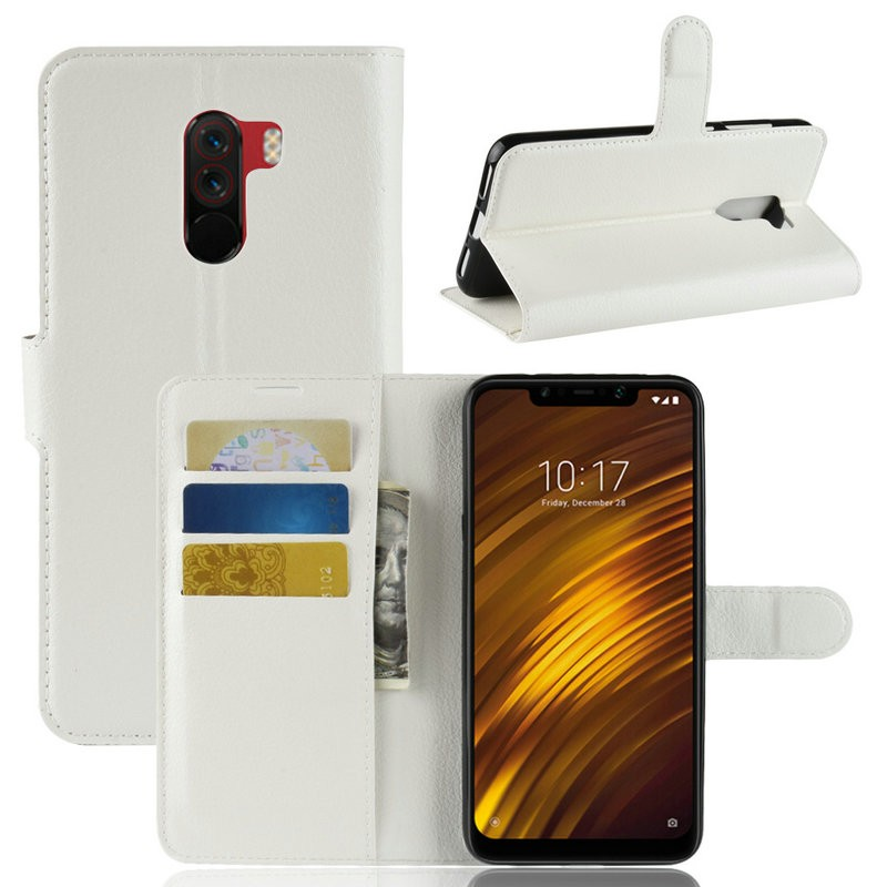 WIERSS белый для Xiaomi Poco F1 для Xiaomi Pocophone F1 WIERSS Кошелек телефонный чехол