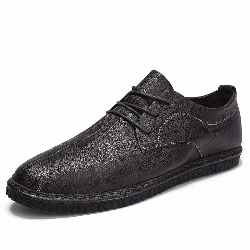 Мужская обувь рабочая обувь формальная обувь мужская мода обувь luoweikedeng Серый 43 фото