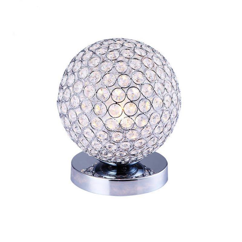 Настольная лампа настольная лампа ночной свет спальня LED настольная лампа устан BAYCHEER Прозрачный цвет фото