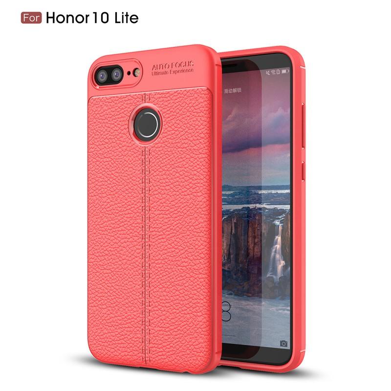 Fecoprior красный Задняя обложка для Huawei Honor 10 Lite Case Honor10 Lite