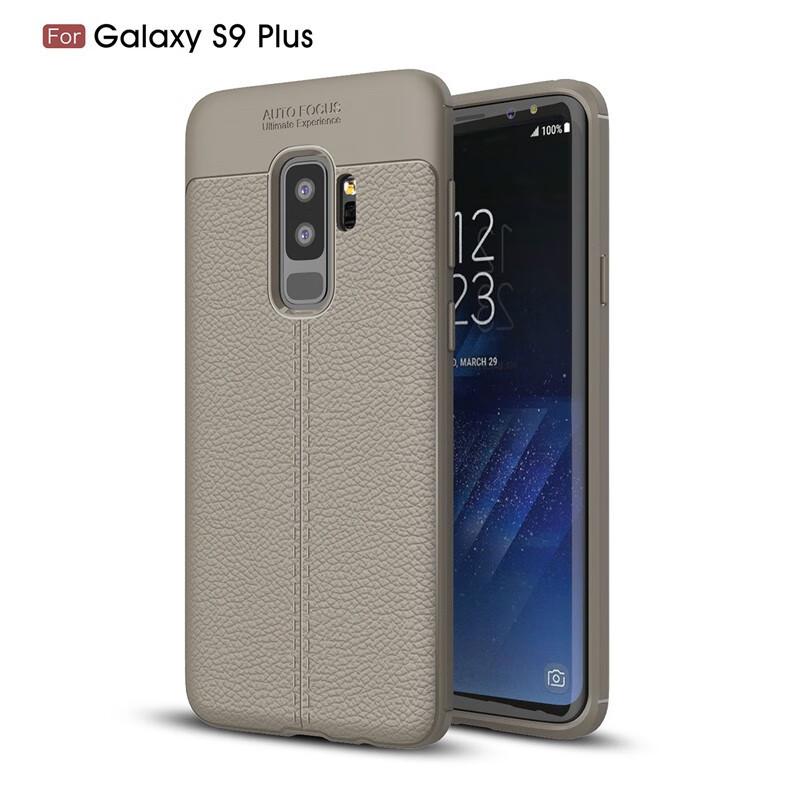 Fecoprior Серый Задняя обложка для Samsung Galaxy S9 Plus Case S9Plus