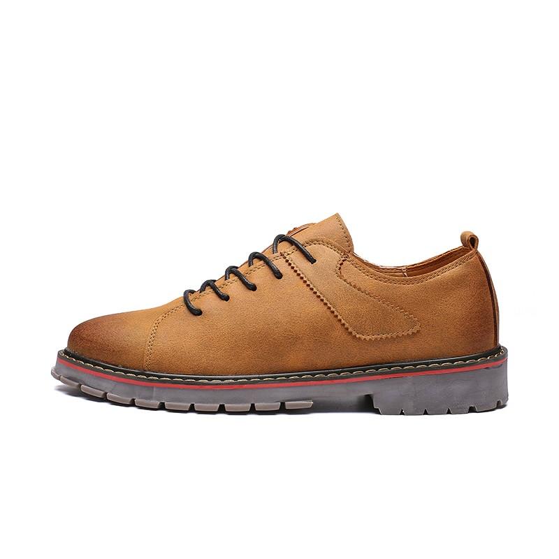 Мужская обувь для повседневной обуви amk Темно-желтый 44 фото