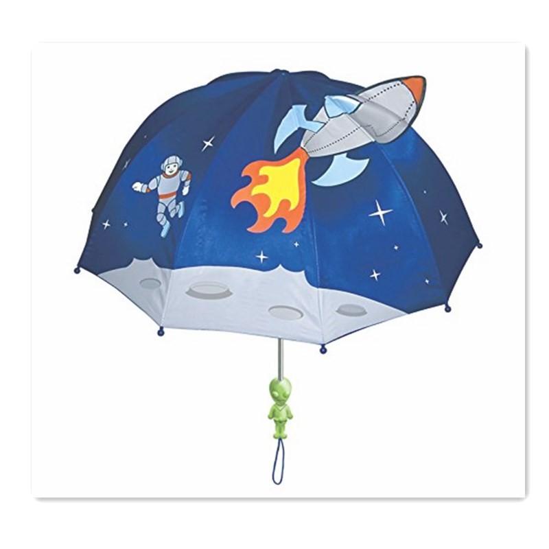 Детский зонт доры MEIZI синий Средний код фото