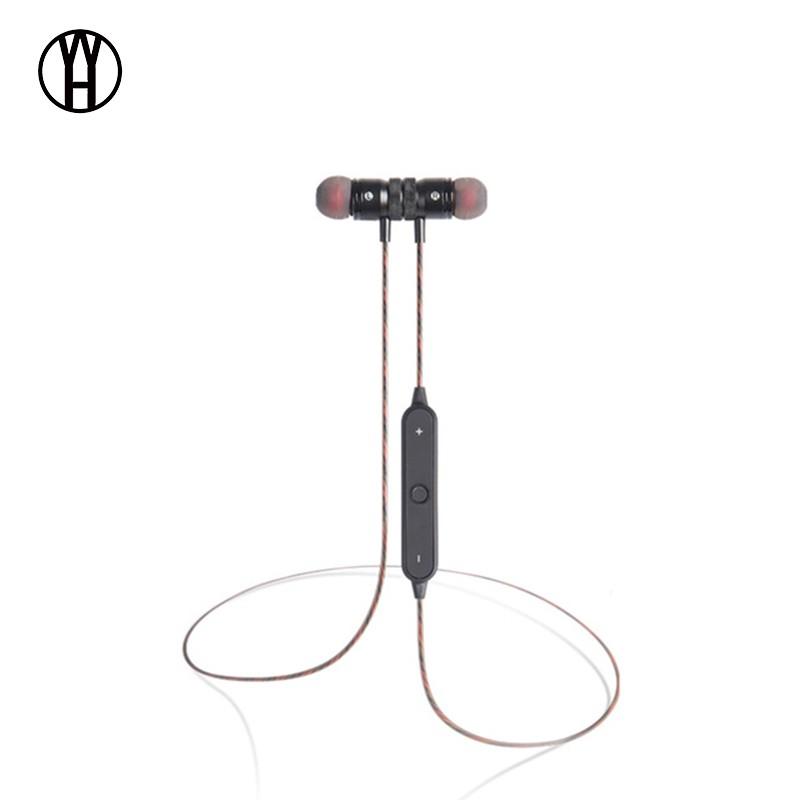 BT22 магнитный беспроводной Bluetooth-наушник WH Чёрный цвет фото