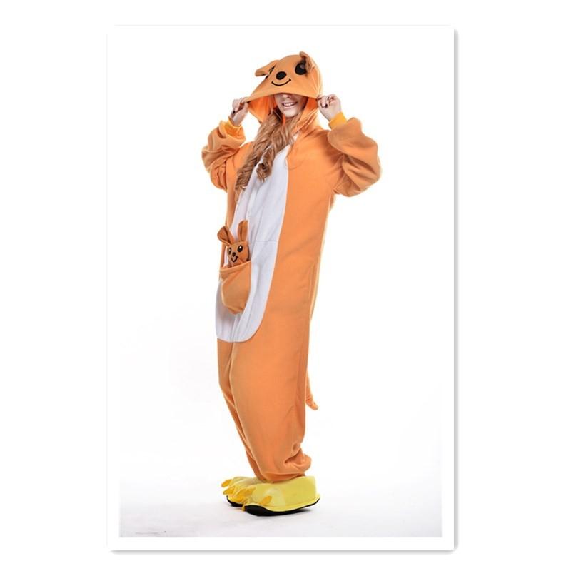 Пижама для кенгуру LUO Q оранжевый M No фото