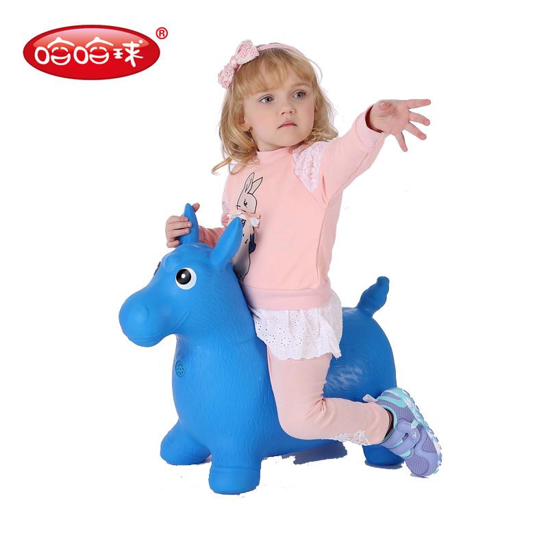 JD Коллекция Синий толстый раздел дефолт children horse rocking horse wood rocking horse toy baby rocking chair dual purpose baby gift