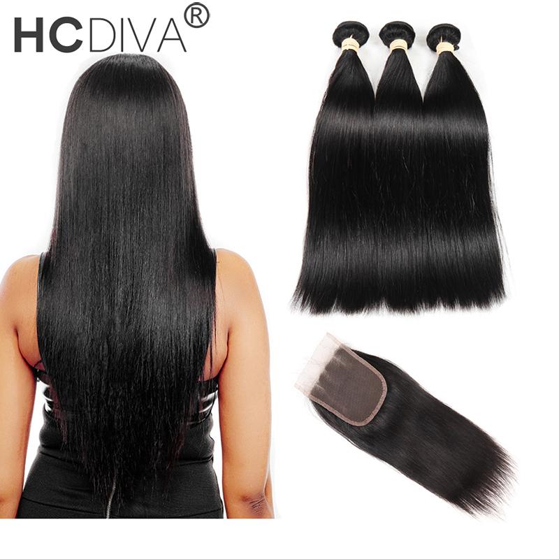 Человеческие волосы с пучками HCDIVA Три части 14 16 18 с 12 фото