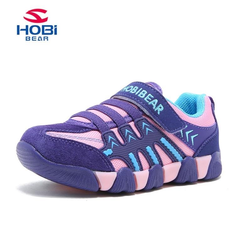 Повседневные кроссовки для детей мальчиков и девочек HOBIBEAR фиолетовый40 12 ярдов фото