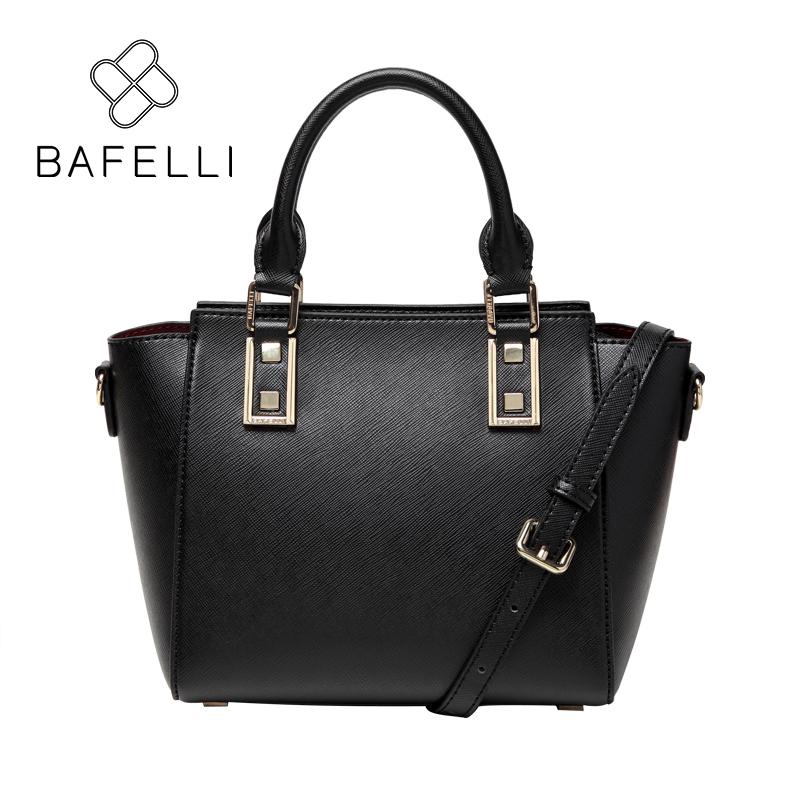 BAFELLI Природный черный bafei li bafelli бамбук сумка ретро седло мешок плеча рука сумка черная ba1 8h0107