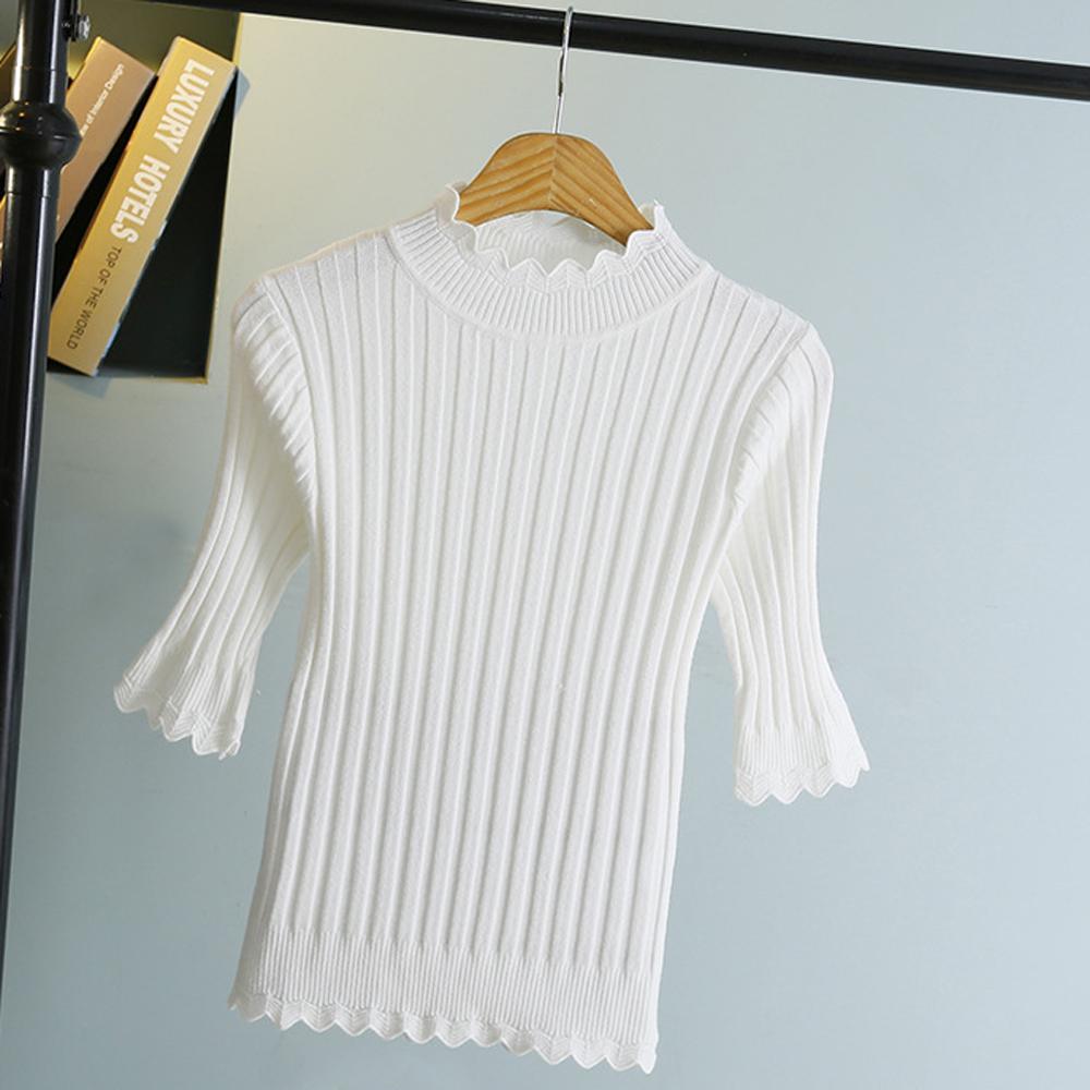 Sesibibi Белый стандартный playboy хлопковый мужской свитер трикотажный свитер