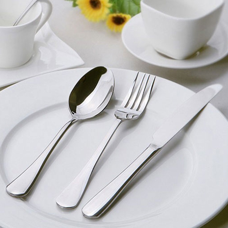 JD Коллекция Западный нож и вилка из трех частей промо оборудование дефолт столовые приборы кюп нож десертный alm3401061059