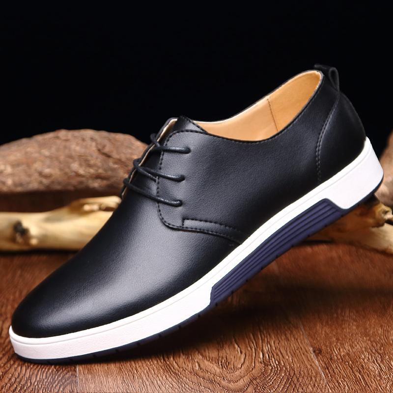 MEGIR темно - синий 85 ярдов женская обувь на плоской подошве 2015
