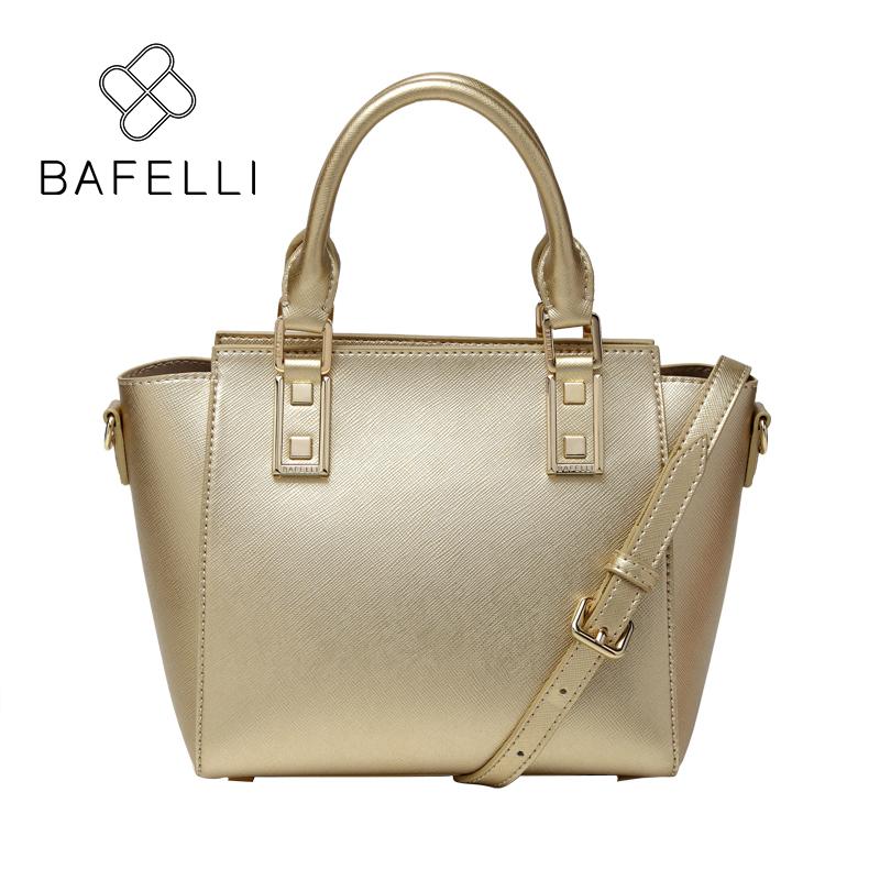 BAFELLI Золото bafei li bafelli бамбук сумка ретро седло мешок плеча рука сумка черная ba1 8h0107