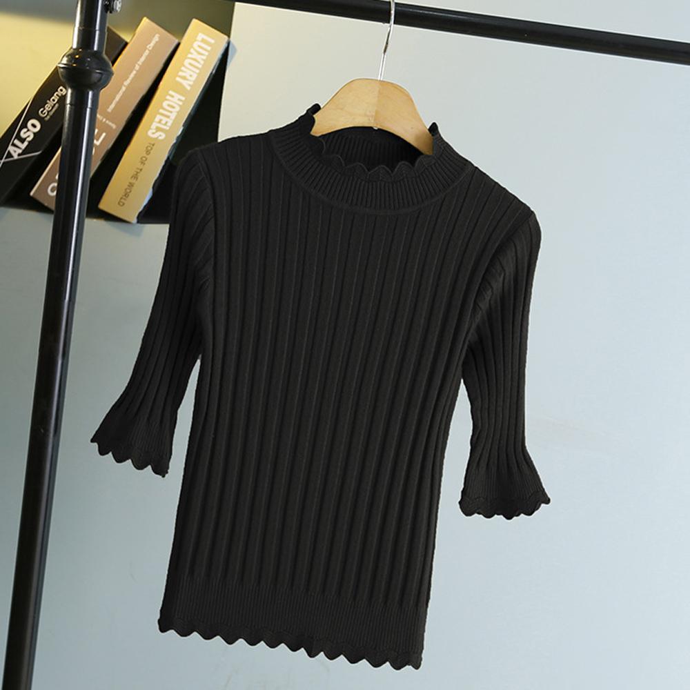 Sesibibi Черный стандартный playboy хлопковый мужской свитер трикотажный свитер