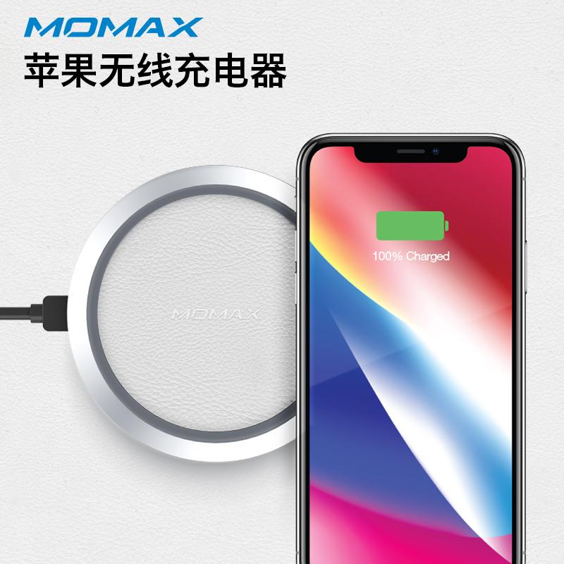 MOMAX Беспроводная зарядка Белый дефолт momax зарядное устройство сетевое momax u bull 4 usb 5а белый