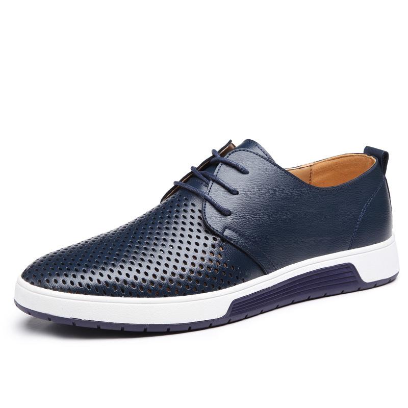 MEGIR Синий цвет 85 ярдов женская обувь на плоской подошве 2015