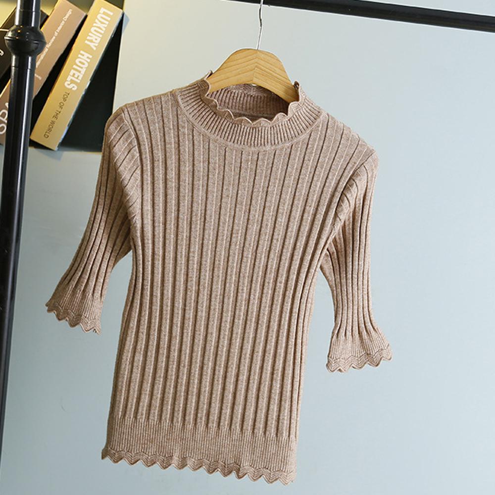 Sesibibi Хаки стандартный playboy хлопковый мужской свитер трикотажный свитер