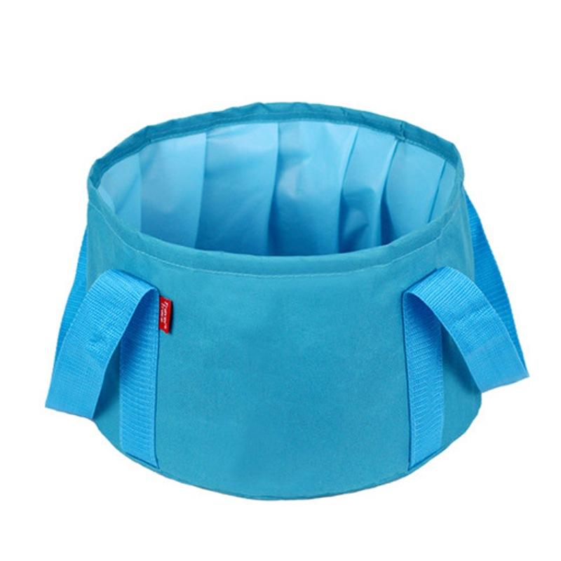 JAJALIN синий kingcamp портативное складное ведро для лагеря досуга пикник вне дома 8l