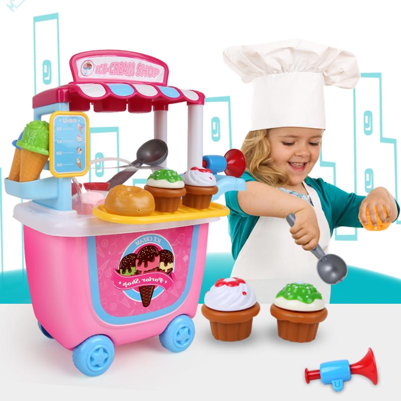 JD Коллекция Мороженое ковшовые тележки дефолт bmw серии детские игрушки автомобиля детские игрушки