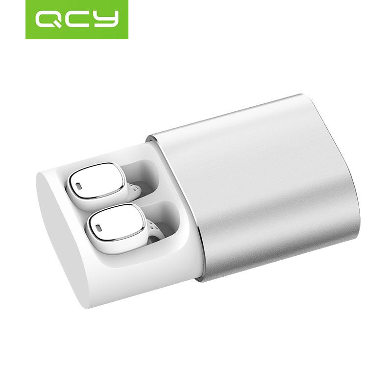 QCY Серебряный беспроводные наушники monster isport freedom wireless bluetooth on ear green