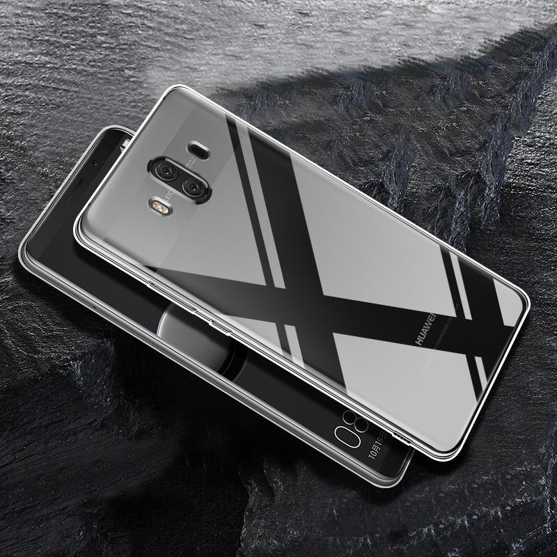 JD Коллекция HUAWEI Mate 10 кола 360 f5 телефон оболочки тпу прозрачный силиконовый чехол мягкой оболочки для мобильных f5 360