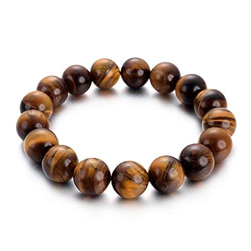 yoursfs Светло-коричневый регулируемый дизайн панков турецкий браслеты для глаз для мужчин женщины новая мода браслет женский сова кожаный браслет камень