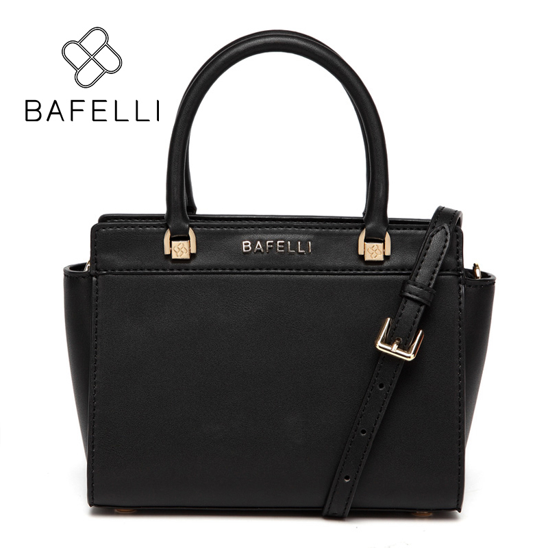 BAFELLI черный bafelli women bags split leather bucket handbag high quality string shoulder bag letter ornaments bolsos mujer red crossbody bag