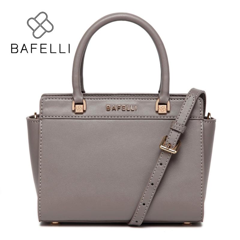BAFELLI Серый bafelli women bags split leather bucket handbag high quality string shoulder bag letter ornaments bolsos mujer red crossbody bag