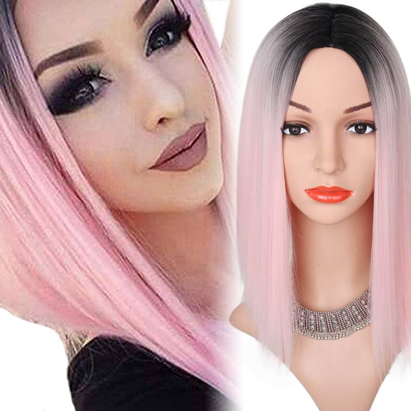 AISI HAIR Pink 14 inches
