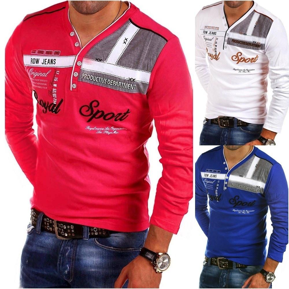 ZOGAA длинные рукава красного Номер S u s polo assn men s short sleeve pique polo shirt with multi color pony logo
