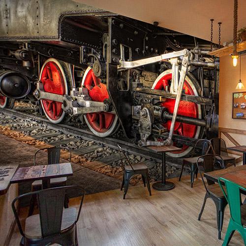 Colomac Blue современный нью йорк ночью просмотр фото mural обои гостиная ktv бар кафе ресторан фон обои облицовка papel murals 3d