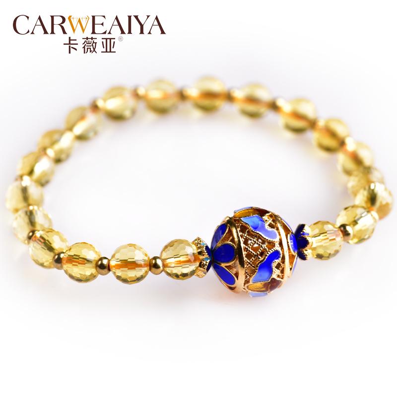 CARWEAIYA Цилиндрический эмалевый браслет 6мм аксессуары bino браслет желтая бабочка 9989045
