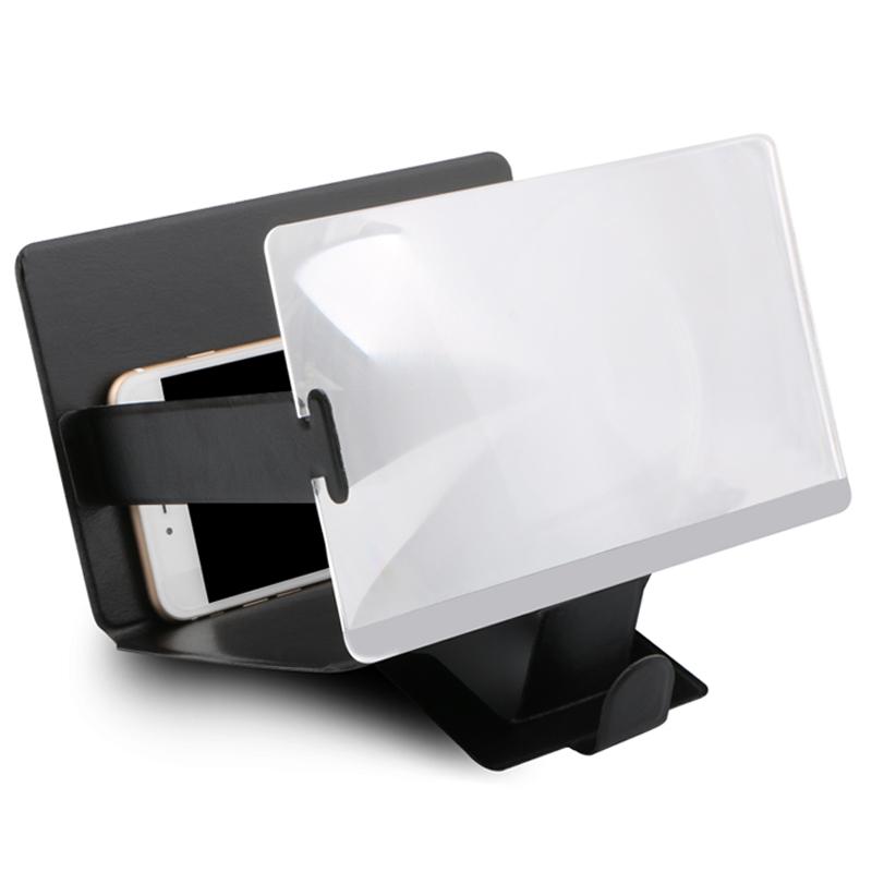 JD Коллекция Default По умолчанию складное 3 кратное зум увеличительное стекло сотовый телефон экран hd усилитель для 3d фильмов